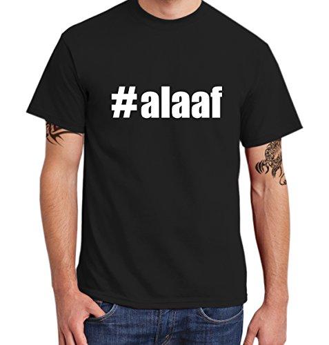 ::: #ALAAF ::: T-Shirt Herren Schwarz