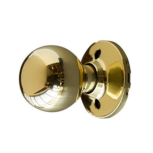 design-house-727008-bay-dummy-door-knob-polished-brass-by-design-house