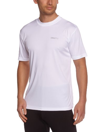 CRAFT 199205 Active Run Tee, 1900 white, 6 = L