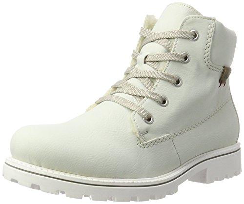 Rieker Damen Z1420 Stiefel, Weiß (Offwhite/Dunst), 39 EU