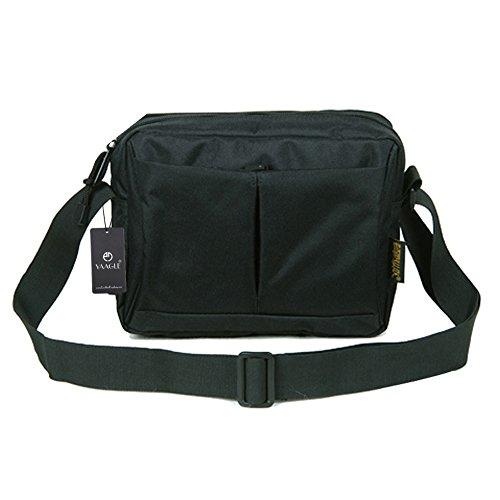 YAAGLE Schultertasche Kuriertasche Freizeit Business Taschen Herren outdoor Reisetasche IPAD Laptoptasche Black