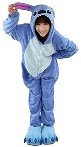 Renee Adulte Unisexe Anime Animal Costume Cosplay Combinaison Pyjama Outfit Nuit V¨ºtements Onesie Fleece Halloween Costume Soir¨¦e de D¨¦guisements