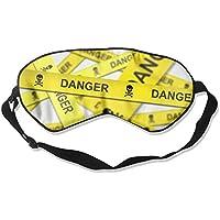 Danger Background Sleep Eyes Masks - Comfortable Sleeping Mask Eye Cover For Travelling Night Noon Nap Mediation... preisvergleich bei billige-tabletten.eu