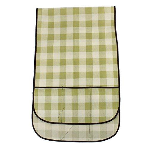 Kühlschrank Anti-Staub-Plaid-Druck-Overlay-Abdeckung 55,9 x 18,1 Zoll Plaid Overlay