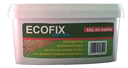 Ecofix Wasser 1,5kg Kork Boden Fliesen Kleber Kontaktkleber