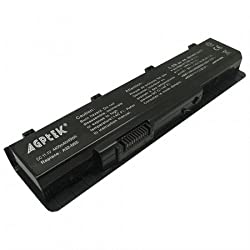 6 Cell Laptop Battery 4400mah Black for A32-N55 ASUS N45 Series/ASUS N55 Series ASUS N75 Series