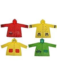 1173154ae1783a Bahia Vista Regenponcho Regenjacke für Kinder, für Jungen und Mädchen mit  Motiv: grüner Frosch