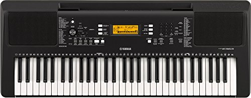4. Yamaha PSR-E-363 61-Key Touch Portable Keyboard