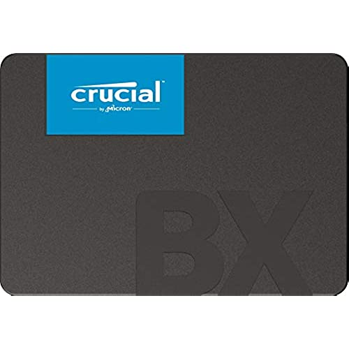 Crucial BX500 480 GB CT480BX500SSD1(Z) fino a 540 MB/s, SSD Interno, 3D NAND, SATA, 2.5 Pollici