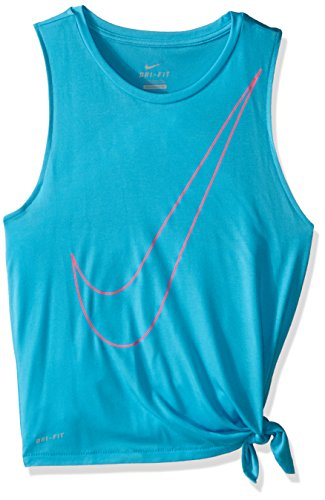 Nike Side Tie Top YTH – T-shirt pour fille