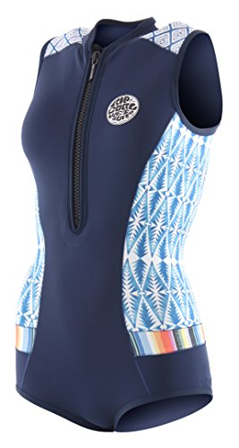 Rip Curl 2018 Womens G-Bomb 1mm Sleeveless Shorty Wetsuit Blue Sub WSP7MW Sizes- - Ladies 8