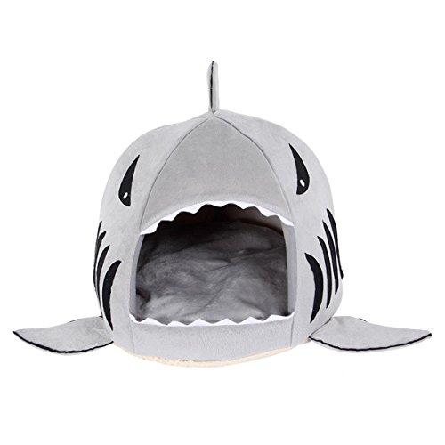 shinmax-cuccia-cane-interno-squalo-rotonda-letto-casa-grigio-sveglio-cucciolo-da-letto-per-lammortiz