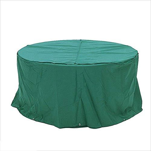Yunyisujiao Wasserdicht, Regenfest, Feuchtigkeitsbeständig, Schutzhülle, Gartenmöbel, Möbel, Oxford-Tuch, 15 Größe (Farbe: Grün) (Color : 160X90CM)