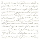 Stencil Mini Deco Fondo 031 Manuscrito. Medidas aproximadas: Medida exterior del stencil: 12 x 12 cm Medida del diseño:9 x 9 cm