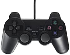 OSTENT Cablata Analogico Controllore Gamepad Joystick Joypad Compatibile per Sony PS2 PSone PSX Console Dual Shock Videogiochi