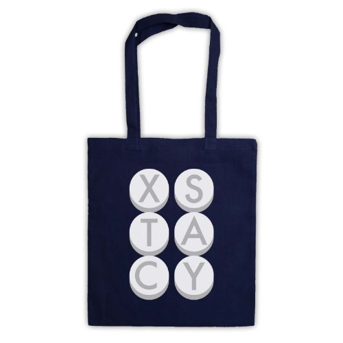 My Icon Art & Clothing , Borsa da spiaggia  Uomo-Donna Blu navy