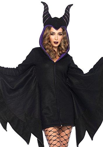Leg Avenue 85519 - Cozy Villian Kostüm, Größe Small (EUR 36) (Bösewicht Kostüme Für Frauen)