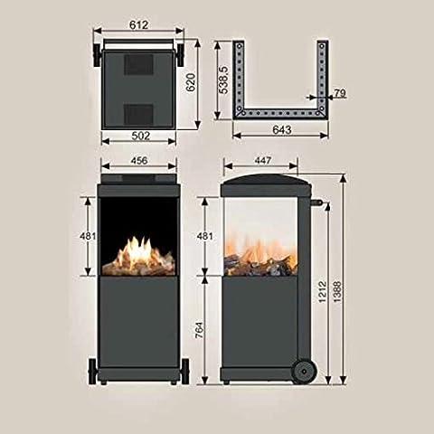 Faber-thebuzz-Gas-Chimenea-Exterior-Acero-corten-Acero–Gas-Natural-lnea-H-de-Gas