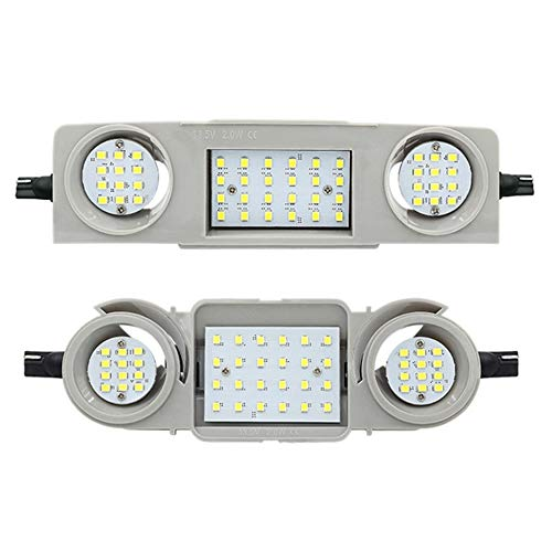 LED Innenraumbeleuchtung Modul - Hauptbeleuchtung + Lesebeleuchtung vorne und hinten (vorne + hinten)