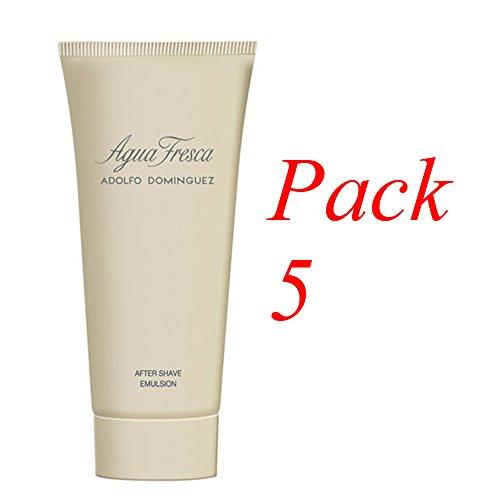Adolfo Dominguez Agua fresca Aftershave 100 ml. Pack de 5 (precio: €)