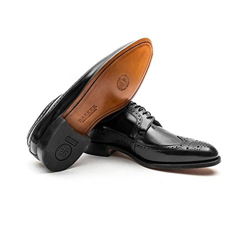 Barker - Woodbridge - Mens - Black Polish Black Polish