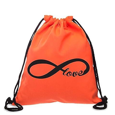 Beutel Forever Love Infinity Symbol Endless Love Schleife Liebe Zeichen