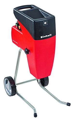 Einhell Broyeur électrique silencieux GC-RS 2540 (2000 W, Régime 40 trs/min, Livré avec sac de ramassage de déchets)