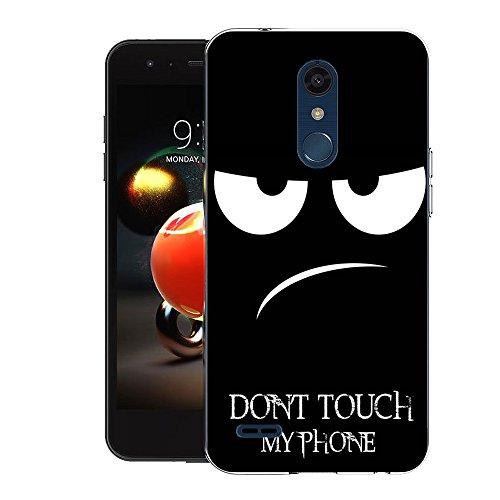 LG K8 2018 Handy Tasche, FoneExpert® Ultra dünn TPU Gel Hülle Silikon Case Cover Hüllen Schutzhülle Für LG Tribute Dynasty / LG Aristo 2 / LG Zone 4 / LG K8 2018/LG Fortune 2/LV3 2018