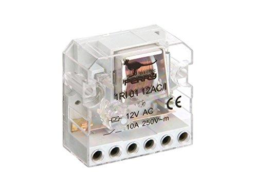 Sesam 1RI 0112AC/I Elektromechanischer Stromstoßschalter 12 VAC, UP, 1 Schließer