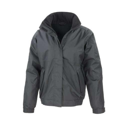 Result Core Channel Jacket, Impermeable Uomo, Medium Grigio