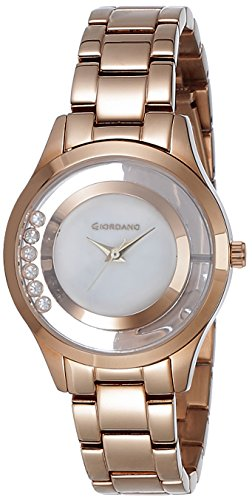 Giordano Analog White Dial Women\'s Watch - 60093-44