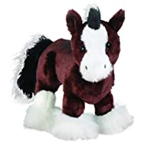 Webkinz Clydesdale Horse Plush Toy with Sealed Adoption Code (Brown)