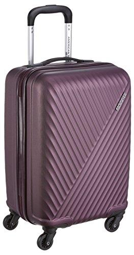 American Tourister Skyrock ABS 55 cms Purple Hardsided Cabin Luggage (AMT SKYROCK SP 55 cm Purple)