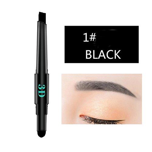 dichte Multifunktionale Automatische Augenbraue Pigment Make-Up Kit Schönheit (A) ()