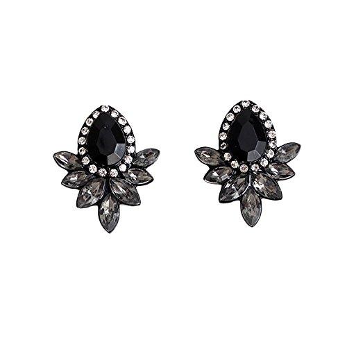 luremer-mode-vintage-style-simple-boucle-doreille-en-pierre-de-goujon-noir-pour-fille-et-les-femmes-