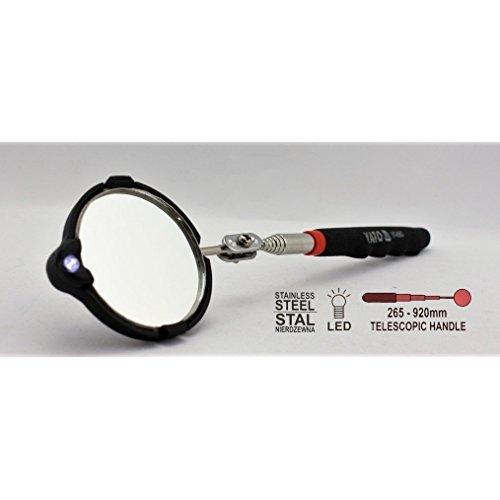 YATO YT-0663 - Espejo inspección telescópico iluminado
