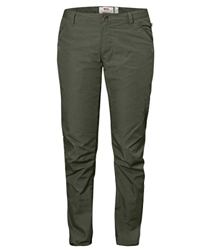 Fjällräven Damen High Coast Trousers W Lange Hose, Mountain Grey, 36