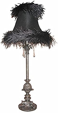 Pewter Table Lamp 31.5
