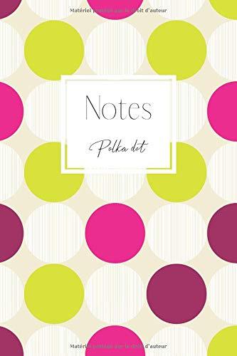 Girly Cute Kostüm - Notes: Un carnet de notes à pois - Polka dot
