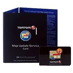 TomTom Map Update Service (24 Monate) für viele Geräte der Serien GO, ONE, ONE XL und XXL