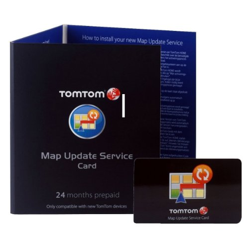 TomTom Map Update Service (24 Monate) für viele Geräte der Serien GO, ONE, ONE XL und XXL Tomtom Go-serie