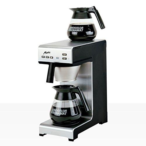 Bonamat Matic 2 Kaffeemaschine Festwasser inkl. Kannen (neues Design)