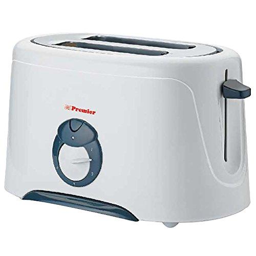 Premier Toaster PT-PB- ( L x B x H) 25 x 15 x 20, silver)