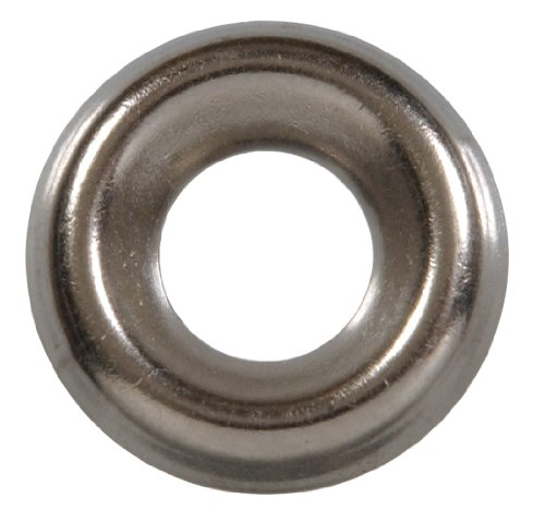 Hillman Fastener Corp6670Nickel-Plated Finishing Washers-#6 NPS FINISH WASHER