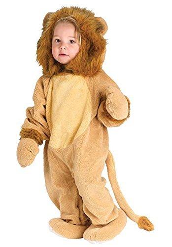 Baby Kleinkind Tier Overall Halloween Büchertag Verkleidung Kostüm Kleidung 6 monate - 2 jahre - Löwe, 12-24 (Kostüm Kleinkind Löwe)