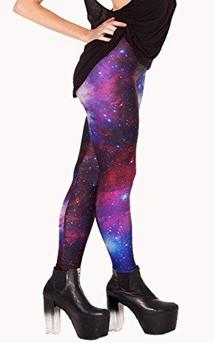 ABUSA Damen Leggings Small Red 3D A217
