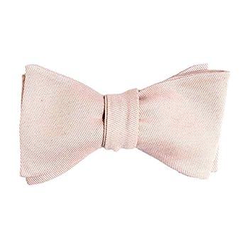 Handgenähte Herren Anzug – Fliege rosè farben sand/Schleife zum Selbstbinden – Selbstbinder – Querbinder