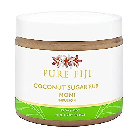 Pure Fiji Coconut Sugar Rub NONI Infusion, 16 oz. by Pure Fiji