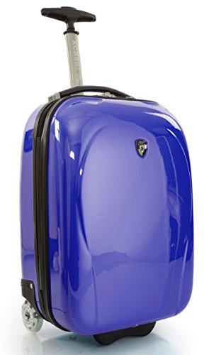 ... 50% SALE ... PREMIUM DESIGNER Hartschalen Koffer - Heys Core XCase Mini Blau - Handgepäck Blau