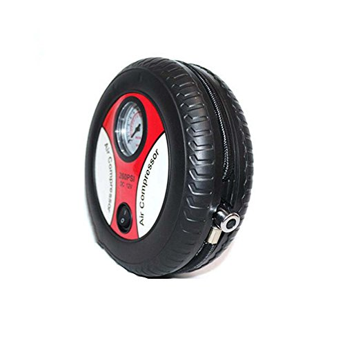 Automobil-Reifen-Pumpe, Metallmotor, kupferne Spule 12V Mikro-Luftpumpe, Haushalts-Automobilluftpumpe-elektrische Luftpumpe